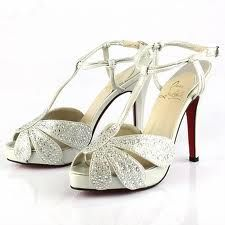 Christian Laboutin shoes - perfect for a 1920's theme wedding