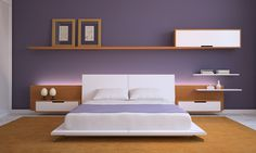 If you love purple, here are some great purple bedroom photos and ideas that will help you find the right shade, scheme, and combination for your own room.