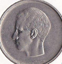 Belgium 10 Franc Frank Coins Belgique Belgian European