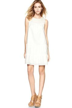 Summer Dresses: THE LWD -   Gap Tiered Peasant Dress, gap.com