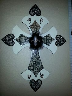 Third cross completed.