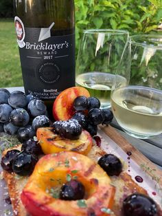 Colio Estate Wines Bricklayer's Reward RIESLING 2017 with Grilled Peach Shortcake. Make the weekend sweet with Colio Bricklayer's Reward 2017 Riesling! What a fun fall trend! Cream Sauce Pasta, Lilac Blossom, Essex County, Grilled Peaches, Complete Recipe, Granny Smith, Raw Honey, Indian Dishes