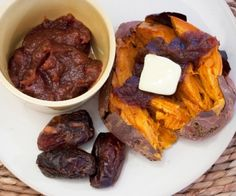 You can use date puree in recipes instead of maple syrup or honey. Have some on a piping hot baked yam for a simple, sweet, and rich Thanksgiving side dish.