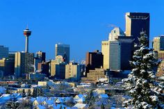 Calgary – Alberta . I lived here for many years before moving to California. I sure miss Calgary