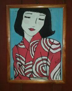 Inspirado em antiga gravura japonesa - Pascoa Moterle