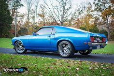 Phil Heacok's '69 Mustang Is Art In Motion
