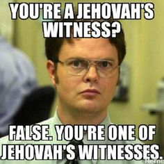 This is my biggest pet peeve. Even worse: leaving off the possession (just Jehovah Witness). We're all united and part of the large group, therefore, we e̲a̲c̲h̲ are ONE of Jehovah's Witnesses. Jw Jokes, Jw Humor, Gym Humour, Image Clipart, My Horse, Laugh Out Loud, True Stories, I Laughed, Laughter