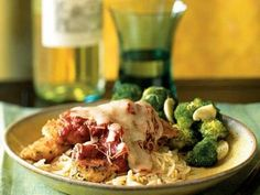 Herbed Chicken Parmesan | Editor Holley Grainger shares recipe ideas for healthy family dinners, ready in 45 minutes or less.