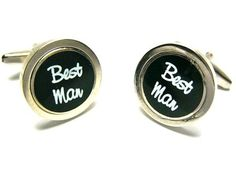 Best Man Wedding Cufflinks - Wedding Cufflinks - Cufflinks
