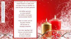 Een gedicht dat je kunt sturen naar iemand, die de Kerstdagen met leegte moet vieren... www.troostgeschenk.nl