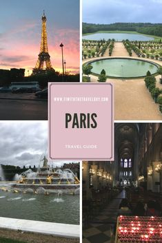 The ultimate travel guide for your first trip to Paris. A complete list of things to do, places to visit and more! Paris travel tips | Paris travel guide | budget travel Paris | Paris attractions #paris #france #itinerary #travel #europe Paris Travel Guide, Europe Travel Tips, Travel Goals, Budget Travel, Travel Destinations, France Europe, France Travel, Paris France, Packing List For Vacation