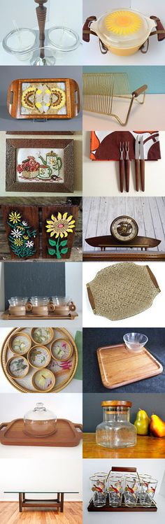 Wood and Glass by Laura Brown on Etsy--Pinned with TreasuryPin.com