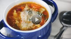 This veggie-packed minestrone soup is inspired by a successful weight-loss program's most popular soup recipe. Full of flavor, it fills you up for only 169 calories per 2-cup serving. Whip up a big pot of this easy, delicious vegetable soup today!