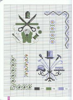 Point de Croix Cross Stitch Borders, Cross Stitching, Cross Stitch Embroidery, Embroidery Patterns, Cross Stitch Patterns, Alice In Wonderland Cross Stitch, Vintage Cross Stitches, Love Sewing, Christmas Cross