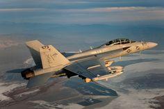 EA-18G Growler    Photo credit: Boeing photo