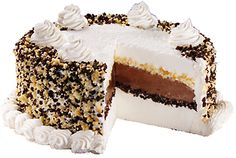 Classic Carvel Ice Cream Cake with the famous crunchies. I will never buy this! I would eat it all in 24 hours...