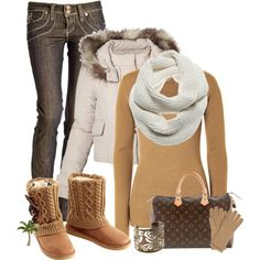 """Baby it's cold outside"" by cindycook10 on Polyvore"