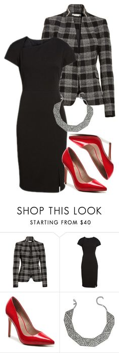 """Jennifer C."" by mloveless-1 ❤ liked on Polyvore featuring Alice + Olivia, Maggy London and INC International Concepts"