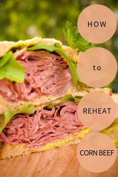 CookingChew prepares a comprehensive guide that boasts two of the best methods to reheating corned beef. Read on to unlock them now! Cooking Corned Beef, Corned Beef Recipes, Freezer Burn, Recipe Please, Good Things, Vegetables, Food, Essen, Eten