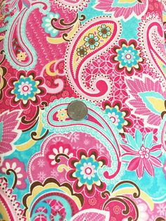 Paisley FLANNEL by Heritage Studios 1 Yard (36x43/44) (not intended for childrens sleepwear)  SEW much FUN! Flannel is great for baby blankets, burp cloths, quilt or anything girly! Work this up into a warm and cozy flannel pillowcase too! The possibilities are endless. This fabric is new, unwashed, 100% cotton FLANNEL that comes to you from my smoke free sewing studio. Im happy to combine shipping so I invite you to browse my other listings! Overages on shipping will be cheerfully refunded…