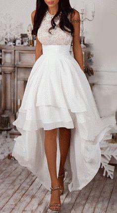 Layered Asymmetric Maxi Dress