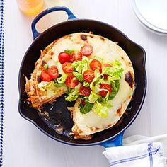 Triple Decker Tortilla Pie Recipe - Good Housekeeping