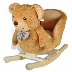 Holzspielzeug vidaXL Schaukeltier Löwe Schaukelpferd Schaukelspielzeug Spielzeug Kinder Baby#