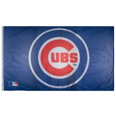 Chicago Cubs 3' x 5' Bullseye Logo Flag #Cubs #ChicagoCubs #Chicago #Cubbies