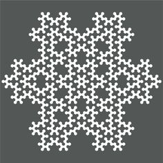 Beautiful Snowflake-Hexie-Pattern. This would be beautiful in blue and white or red and white.