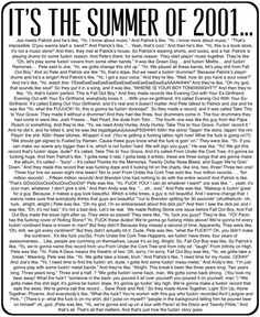 Image result for drunk history fall out boy transcript