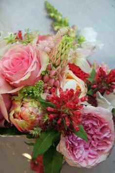 The Flower Magician Bridal Bouquet For Gemma In English Summer Roses Garden Flowers