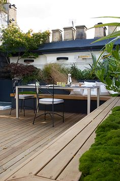 Kensington roof terrace by Andy Sturgeon