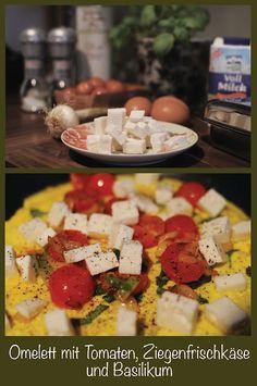 Frühstücksomelett Chili Sauce, Feta, Dairy, Cheese, Rice Noodles, Thai Noodles, Breakfast Omelette, Basil