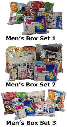 Military Care Packages of the Month - Male..... I just have to say.... where is the other side?