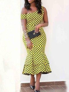 Plus Size Plaid Print Falbala Sexy Women& Dress fashion - Plus Size Plaid Print Falbala Sexy Women& Dress fashion Source by tidebuyofficial - Best African Dresses, Latest African Fashion Dresses, African Print Dresses, African Print Fashion, African Attire, African Dress Designs, Kitenge, Mode Style, Sexy Women