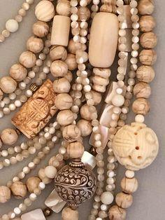 Multi-Strand Shell and Brass Statement Necklace – Sharon Cipriano Jewelry Diamond Cross Necklaces, Diamond Solitaire Necklace, Statement Necklaces, Silver Necklaces, Jewelry Necklaces, Geek Jewelry, Gothic Jewelry, Diy Jewelry, Jewelery