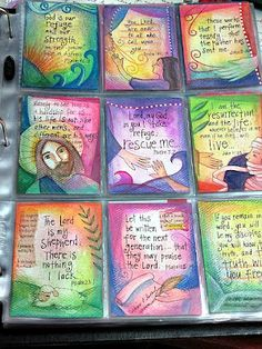 Scripture Trading Cards by peggy aplSEEDS