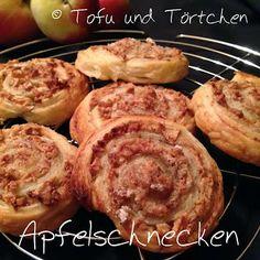 Tofu und Törtchen: Apfelschnecken