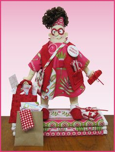 Amy Bradley Designs Fabric Addict Doll pattern