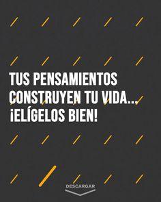 Spanish Inspirational Quotes, Spanish Quotes, Motivational Quotes, Positive Phrases, Positive Vibes, Positive Quotes, Quotes En Espanol, Some Quotes, Life Advice