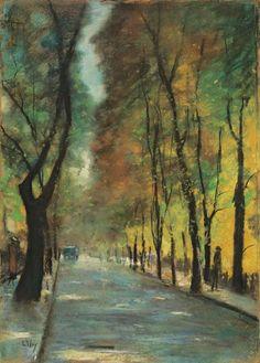 Lesser Ury ~ Impressionist painter