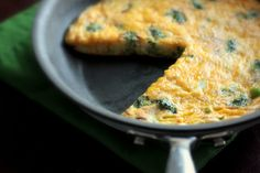 Broccoli and Cheddar Frittata SmartPoints 5 | healthy weight watchers recipes