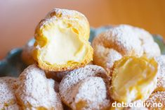 Petits choux au citron (Franske vannbakkels med sitronkrem)
