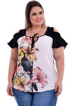 487581fd3 Estampado Tendências Primavera Verão, Macacão Plus Size, Plus Size Feminino,  Moda Para Gordinhas