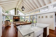 TKD Architects | Goonoo Goonoo Station Home Decor Kitchen, Kitchen Design, Living Area, Living Room, Extension Ideas, Country Style Homes, Barn Homes, River House, House Extensions