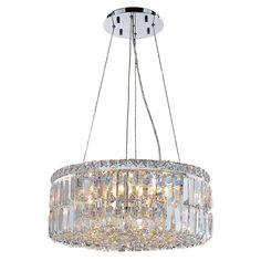 Anjali Glam 12-Light Crystal Chandelier