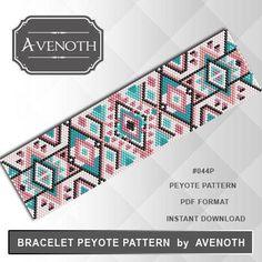 Peyote bracelet pattern peyote pattern stitch pattern pdf