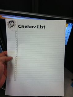 Checkov list