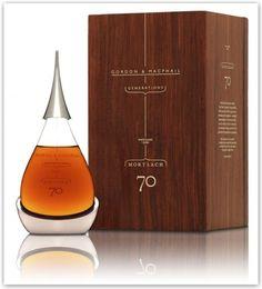 Bottiglie di whiskey: logo e packaging dal design elegante e invitante