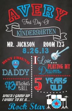 This cute Back to School Sign is perfect for those first day of ...